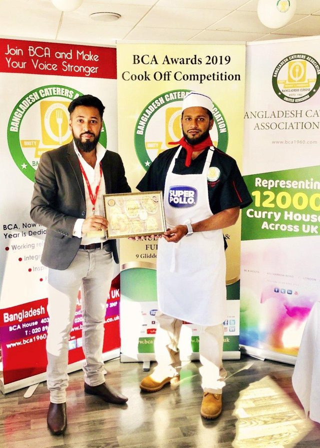 Chef At Portsmouth Indian Takeaway Paanchi Is Finalist In