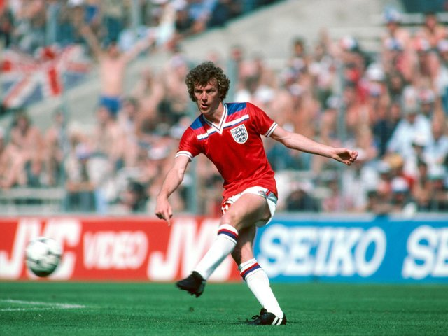 Graham Rix - who of course later managed Pompey - in action for England against France at the 1982 World Cup / Picture: Getty
