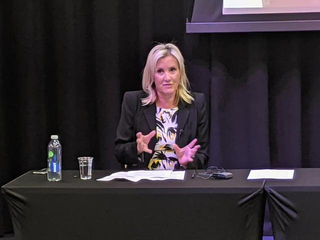 MP Caroline Dinenage. Picture: Emily Turner