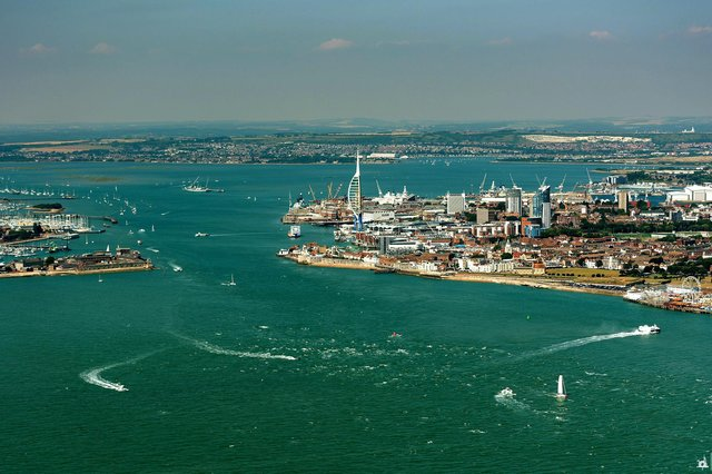 LANDMARK: The Spinnaker Tower is a constant reminder of Portsmouth when you're on the Isle of Wight Picture: Shaun Roster Photography/shaunroster.com