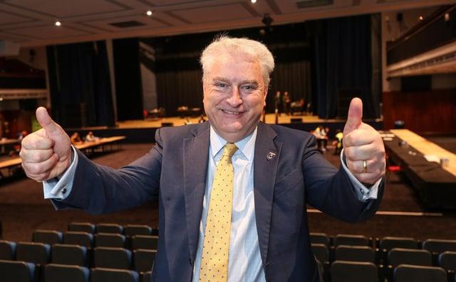 Councillor Gerald Vernon-Jackson leader of Portsmouth City Council.  Picture: Stuart Martin (220421-7042)