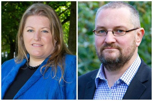 Donna Jones and Luke Stubbs.