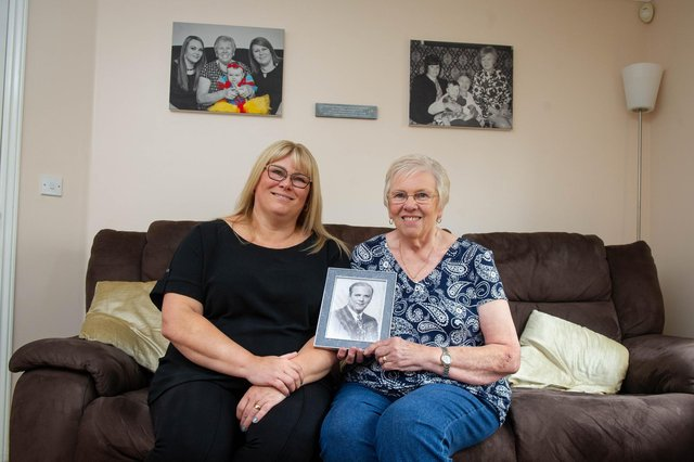 Tina Gurd with her mother Sandra Cale at their home in Waterlooville. Picture: Habibur Rahman