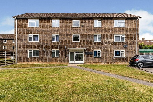 This studio apartment is on sale for £90,000 in Waterlooville.