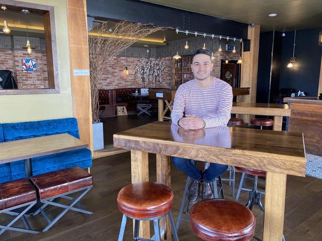 George Purnell, of Koop+Kraft in Cowplain