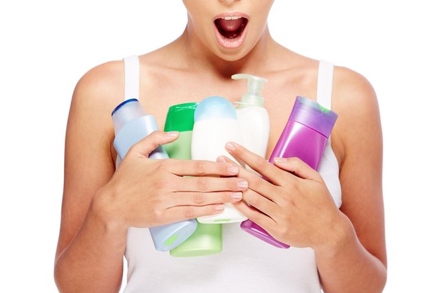 BUBBLES: Bored with lockdown? Why not do a shampoo and conditioner stock-take? Picture: Shutterstock