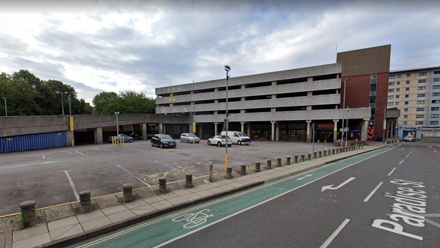NCP car park in Crasswell Street, Portsmouth has a 3 star rating on Google based on 84 reviews.