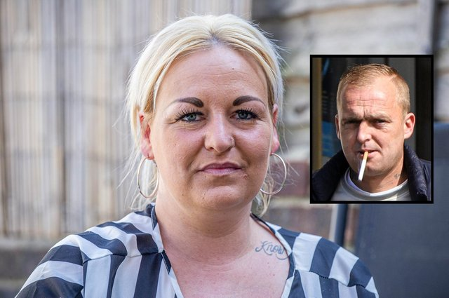 Gemma Foster s former partner has been convicted of assault Pictured: Gemma Foster at her home in Stamshaw on 14 April 2021 inset: picture of former partner, Henry WillisPicture: Habibur Rahman