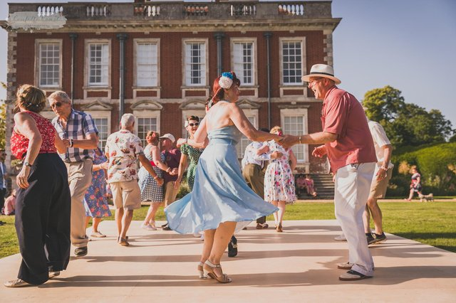 The Nostalgia Show is returning to Stansted House for its third year from June 25 to 27 2021. Pictured: Images from the last event in 2019