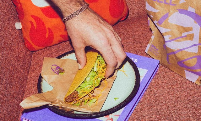 Taco Bell is giving away free tacos in Portsmouth tomorrow. Picture: Taco Bell