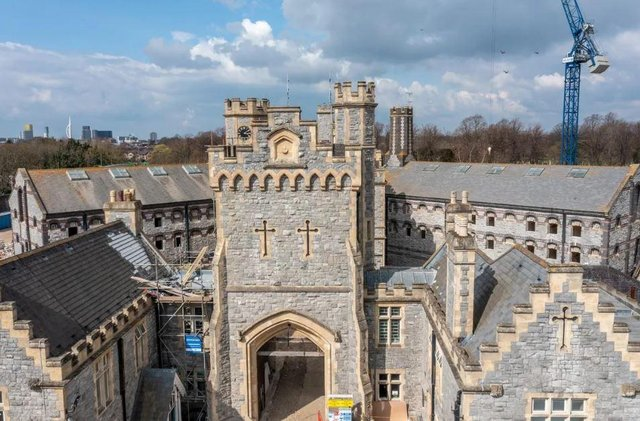 Look inside a flat on sale in The Old Portsmouth Gaol