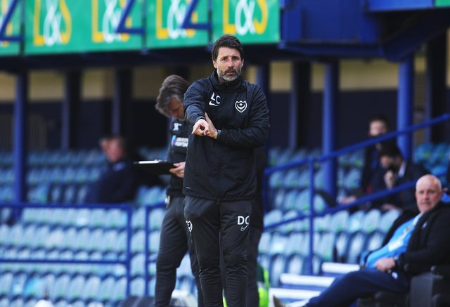 Danny Cowley has invited a number of triallists to Pompey's pre-season training. Picture: Joe Pepler
