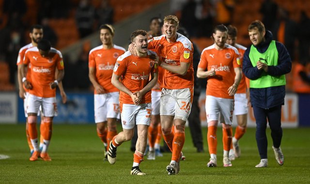 Blackpool booked their place in the League One play-off final after beating Oxford United 6-3 on aggregate. Picture: Gareth Copley/Getty Images