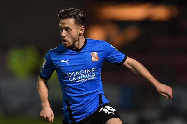 Reported Pompey target - Swindon's Jack Payne - is not believed to be on the Blues' wish list. Picture: Gareth Copley