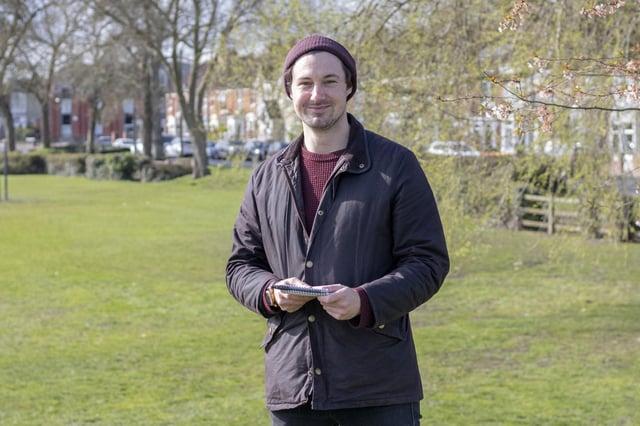 Richard Lemmer at Alexandra Park, Portsmouth. Picture: Habibur Rahman