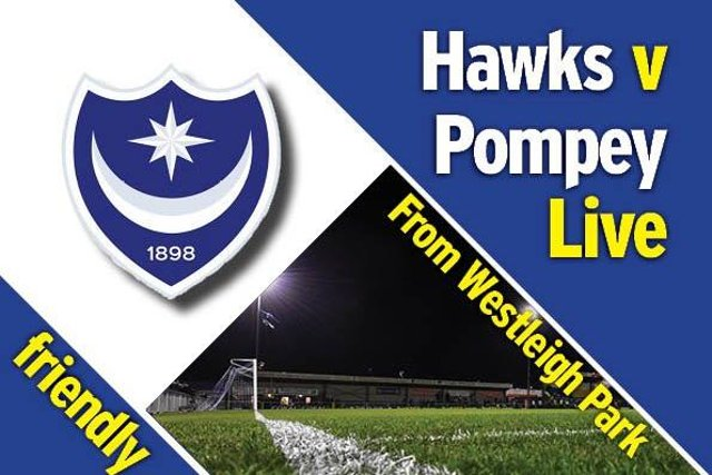 Pompey take on the Hawks at Westleigh Park.