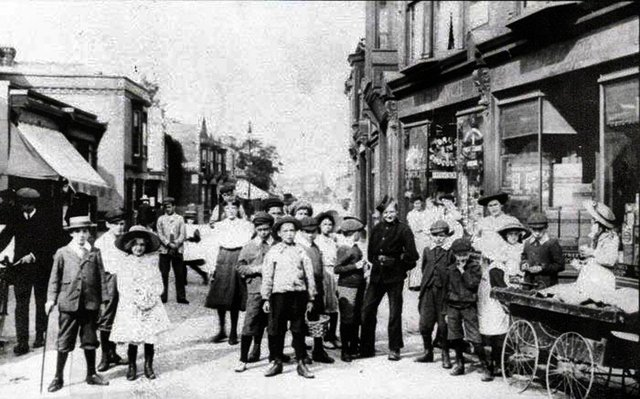 Somers Road 1906. Courtesy of John Archer