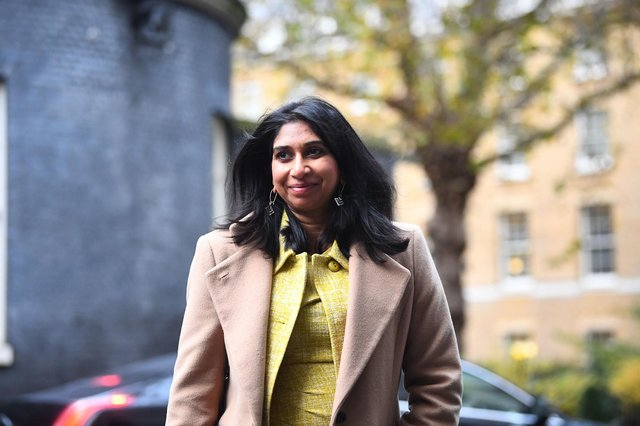 Attorney General Suella Braverman is committed to boosting education in her constituency. Picture: Victoria Jones/PA Wire