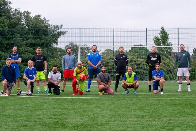 Solent Sports FC Portsmouth group. Picture: Habibur Rahman