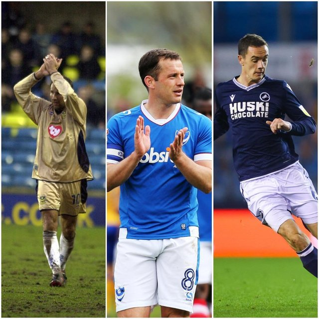 Paul Merson and Michael Doyle were both 34 when they first appeared for Pompey - the same age as impending arrival Shaun Williams