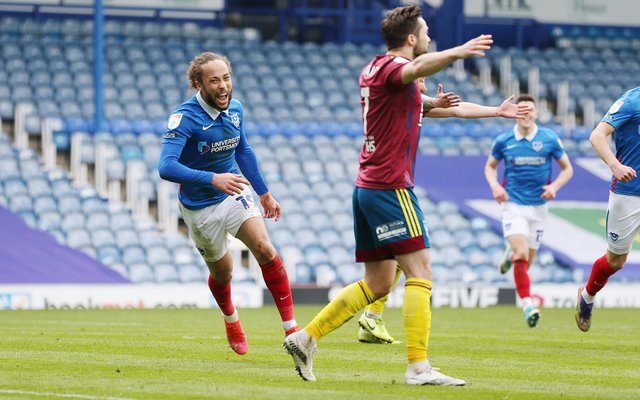 Marcus Harness' talent continues to excite Danny Cowley since his Fratton Park arrival. Picture: Joe Pepler