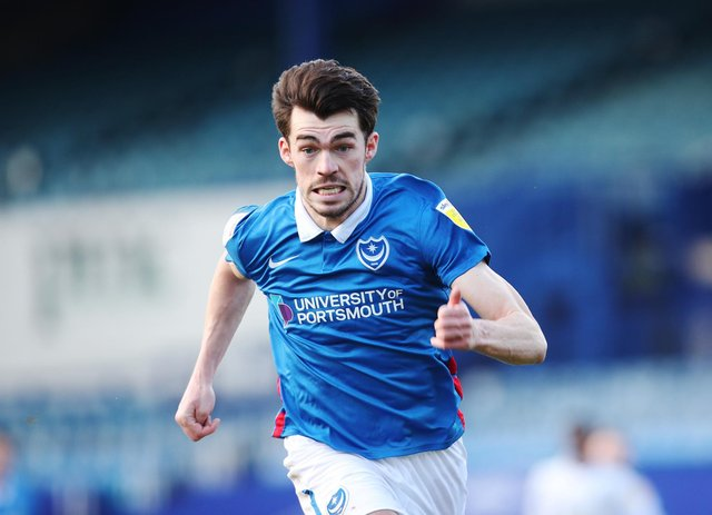 John Marquis returns to the club where he made his name on Tuesday night - desperate to help himself and Pompey. Picture: Joe Pepler