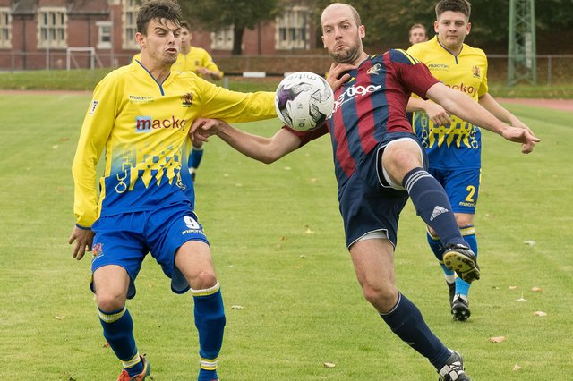 US Portsmouth skipper Tom Jeffes, right. Picture: Keith Woodland