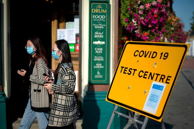 Latest infection rates for across Hampshire. Picture: DANIEL LEAL-OLIVAS/AFP via Getty Images