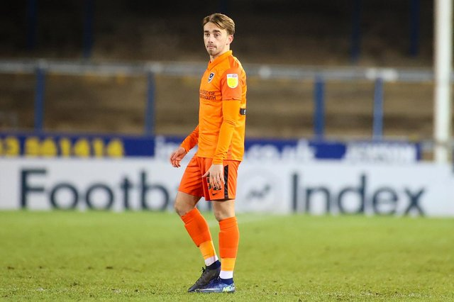 Charlie Bell has been trialling at West Ham after told he wouldn't be retained by Pompey. Picture: Nigel Keene/ProSportsImages