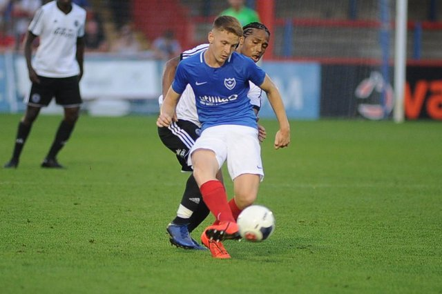 Former Pompey youngster Ethan Robb has signed for Brentford's B team.