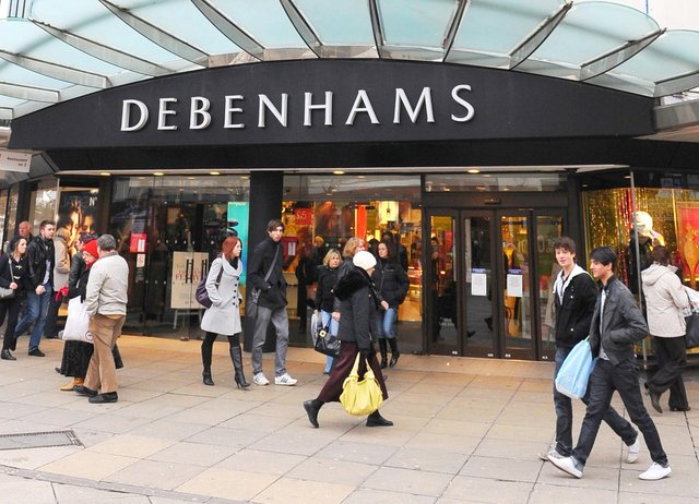 Debenhams in Commercial Road, Portsmouth has closed. It could be set to be demolished.
