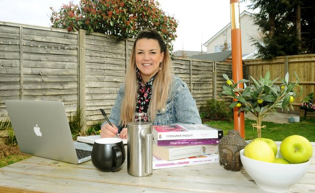 Annelies James-Ryan from Stubbington, launched her new business 22Midnight in January 2021.  Picture: Sarah Standing (080321-4576)