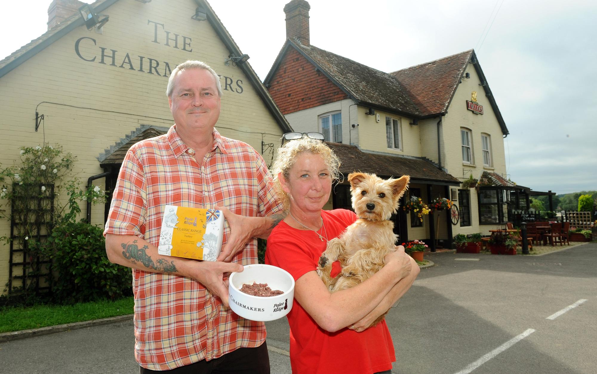 This pub is serving dogs' dinners - and four-legged patrons get their own menu