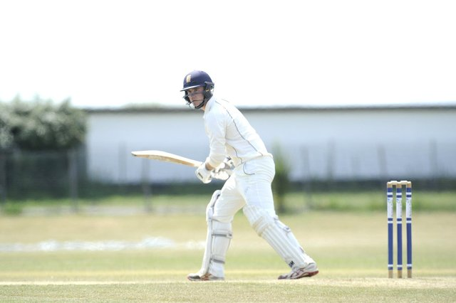 Will Smitherman hit a half-century for Portsmouth in their Southern Premier League loss at Rowledge. Picture: Ian Hargreaves