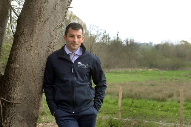 Nigel James, who heads the farming team at South Downs National Park Authority