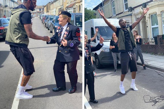Burleigh Road in Portsmouth has won Best Street in this year's We Can Do It awards after Marcus Tisson led doorstep dancing sessions and bingo throughout lockdown to brighten people's days