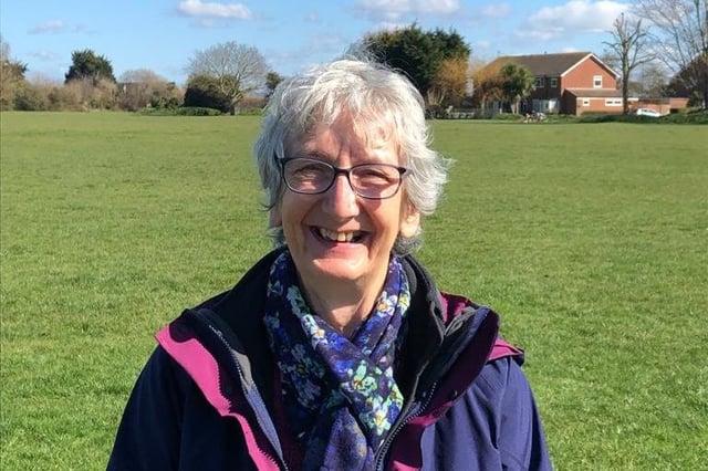 Margaret Lockyer, a member of Havant Green New Deal and of Havant Climate Alliance