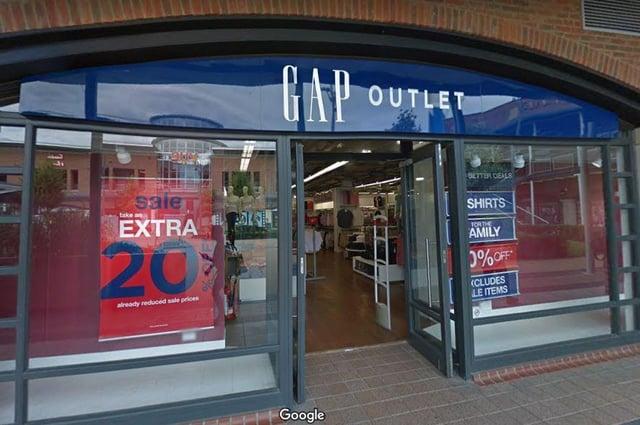 Gap store in Gunwharf Quays. Picture: Google Maps