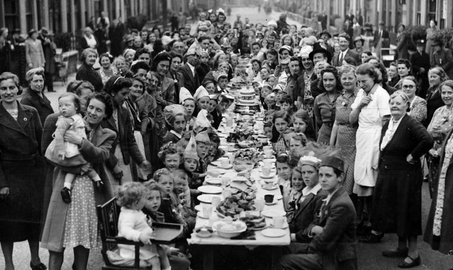 Street party was in Carnarvon Road, Copnor. Picture: Tony Davis.