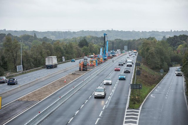 The M27 will see expanded access at Junction 10 to accommodate the Welborne Garden Village.