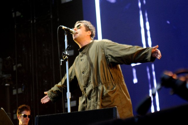 Liam Gallagher performing during the Isle of Wight Festival in 2018. He is set to headline the 2021 show in September.  Picture: Paul Windsor