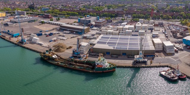 Portico, the deep water cargo terminal and customs agency based at Portsmouth International Port, have agreed a significant lease extension with Portsmouth City Council