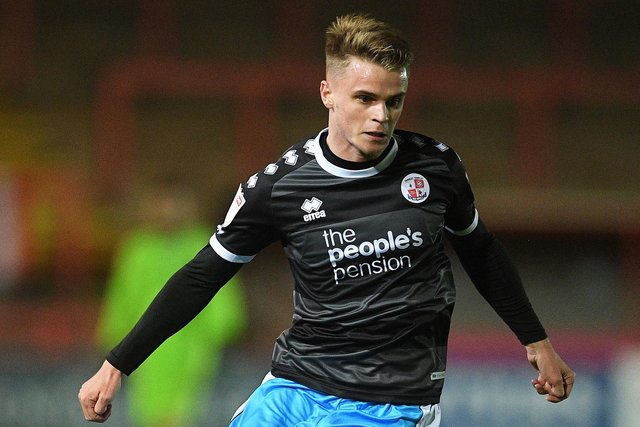 Jake Hesketh spent last season on loan at Crawley from Southampton. Picture: Harry Trump/Getty Images