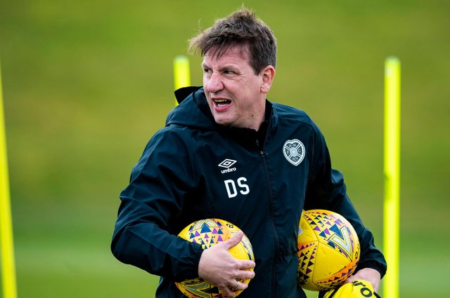 Daniel Stendel, pictured while manager of Hearts, is interesting Pompey as a caretaker boss. Picture: Craig Williamson/SNS Group