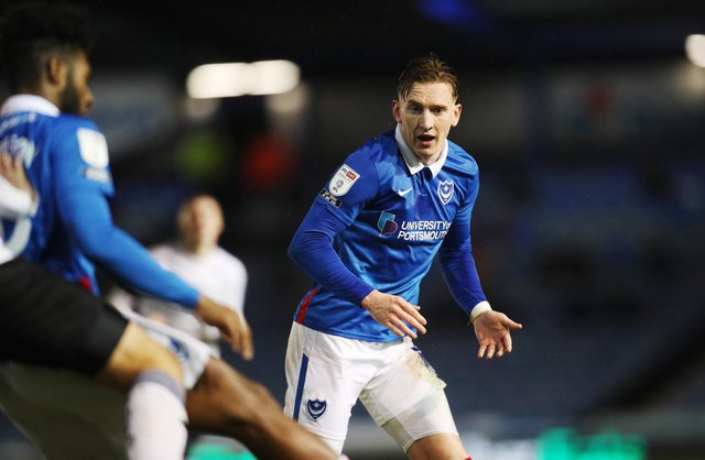 Danny Cowley believes Ronan Curtis' Pompey focus will not be affected by his desire to move to the Championship. Picture: Joe Pepler