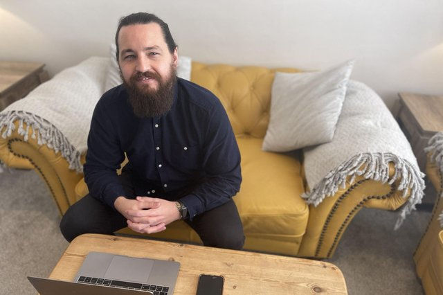 Stuart Radcliffe, from Southsea, launched his company, Wintercomms, in March 2020