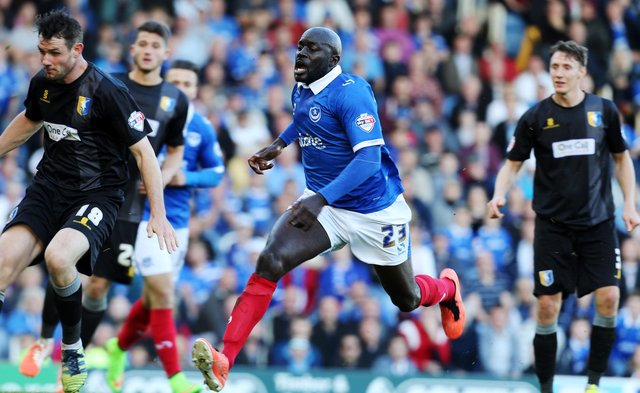 Patrick Agyemang credits Pompey and their support for reinvigorating his love for football after hard times. Picture: Joe Pepler