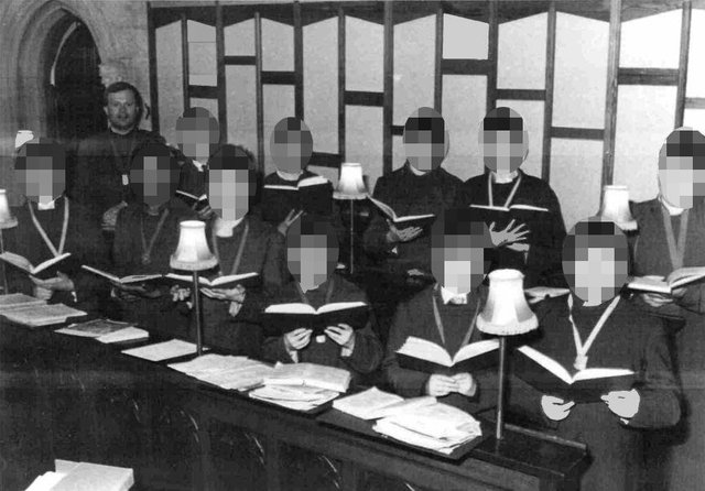 Paedophile choirmaster Mark Burgess in an image taken around 1984. This image was shown to the jury at his Portsmouth Crown Court trial. Picture: Hampshire police