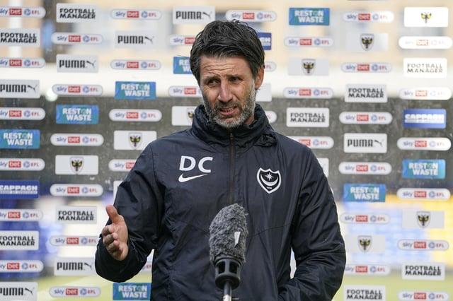 Pompey boss Danny Cowley