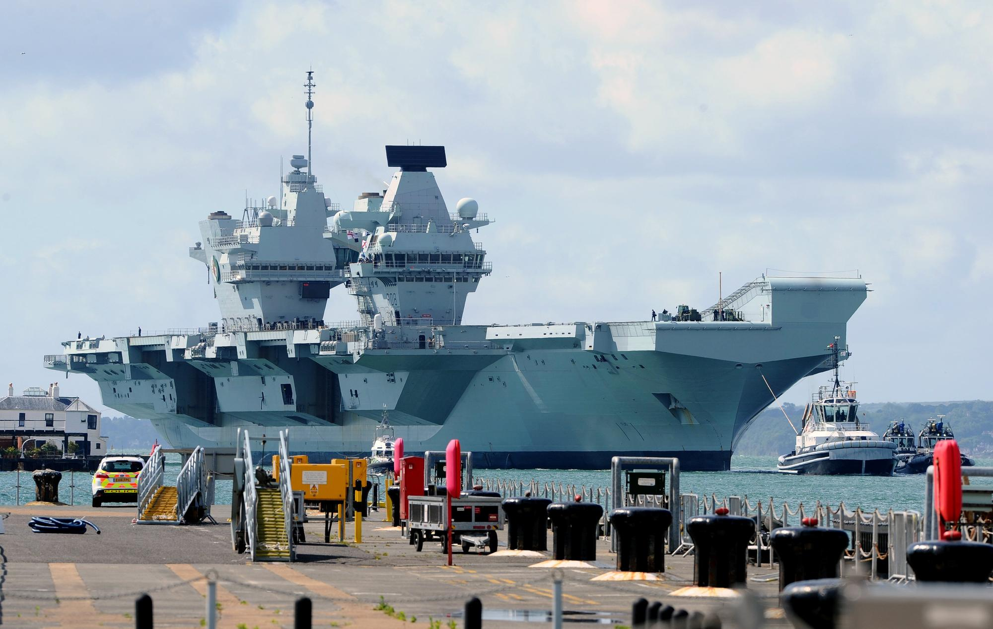 Navy says 100 sailors in isolation after fresh Covid outbreak on aircraft carrier